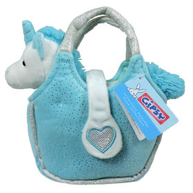 Gipsy - Lovely Bags - White & Blue Unicorn in a Blue Purse