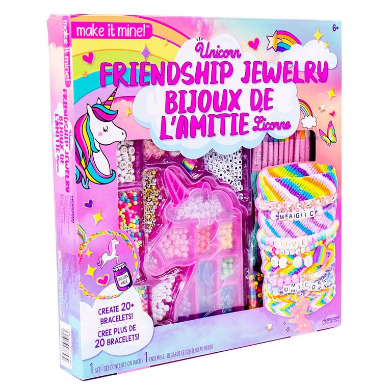 Make It Mine Bijoux de l'amitié Licorne - Notre exclusivité
