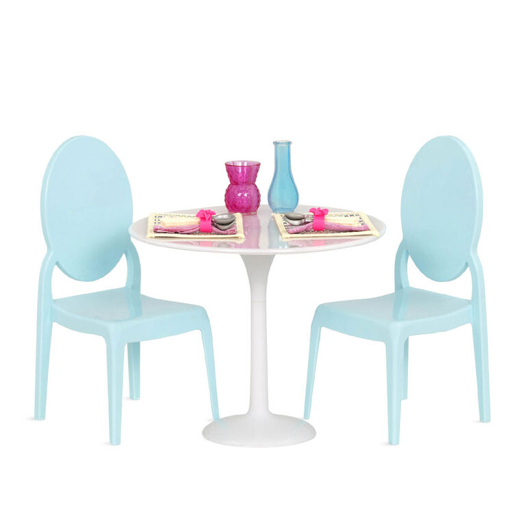 Our Generation Table For Two Furniture Set For 18 Inch Dolls Toys R Us Canada