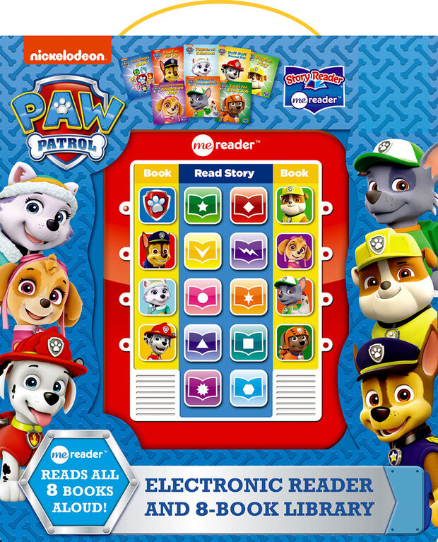 Me Reader - Paw Patrol - English Edition
