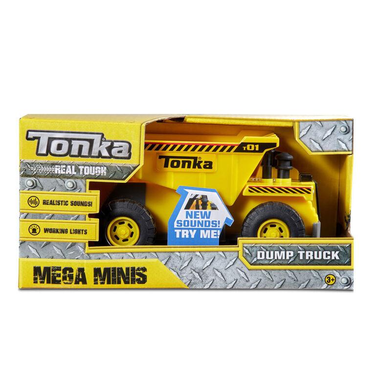 Camion à benne Mega Minis.