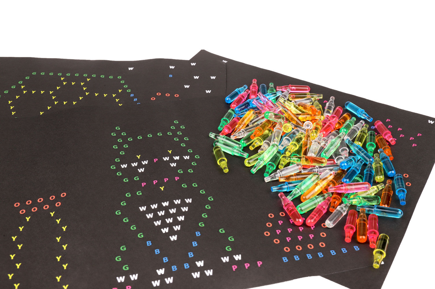 graphic about Lite Brite Refill Sheets Printable Free named Lite-Brite Refill Pack