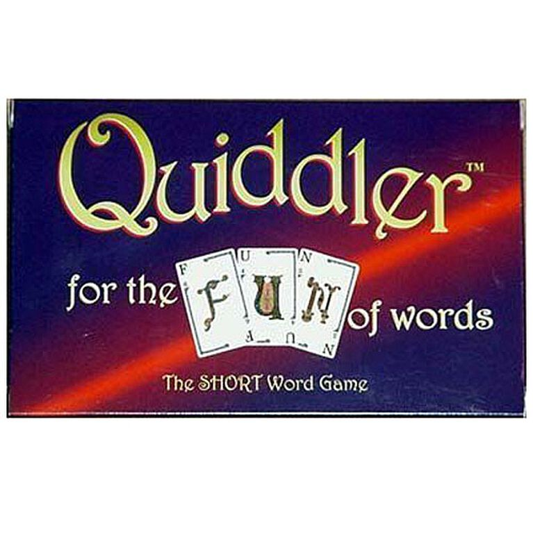 Quiddler Game - English Edition