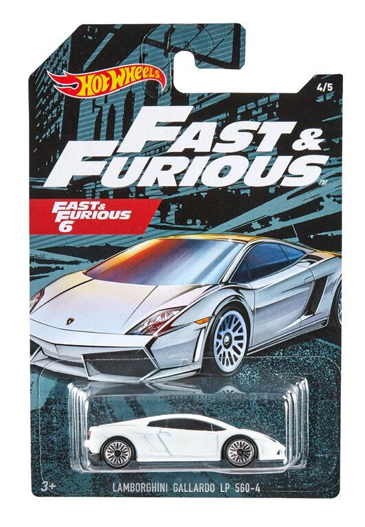 Hot Wheels - Véhicule Lamborghini Gallardo