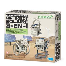 4M Mini Robot Solaire 3-En-1