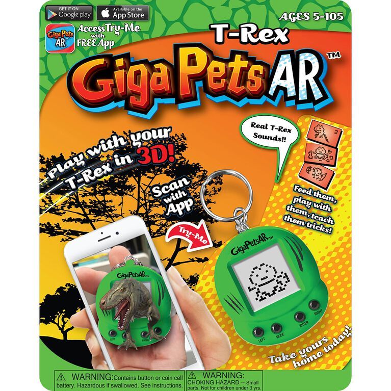 GigaPets AR T-REX