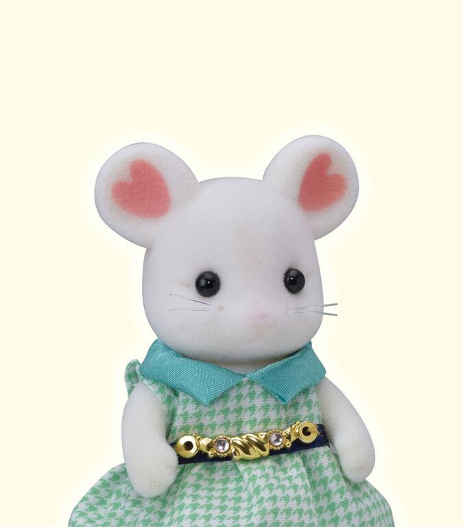 Calico Critters Serie Fille de Ville - Marshmallow Mouse
