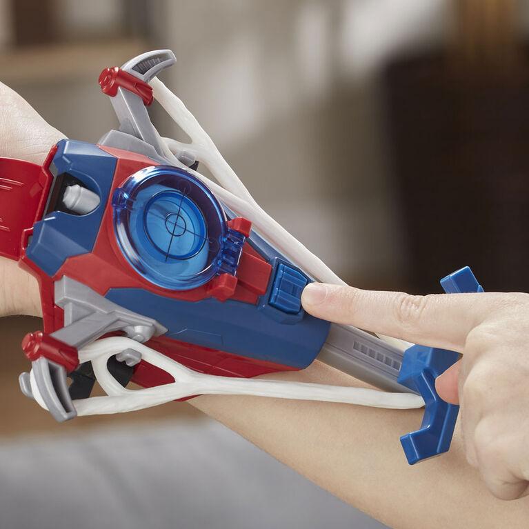 Spider-Man Web Shots Disc Slinger Blaster Toy