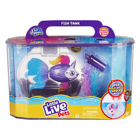Ensemble P'tits Plongeurs Little Live Pets - Poisson licorne