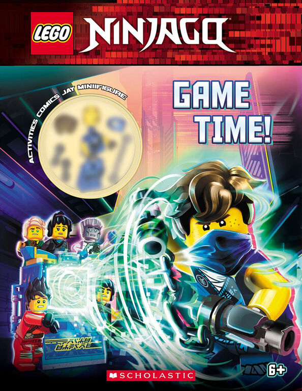 Scholastic - Lego Ninjago: Game Time - Édition anglaise