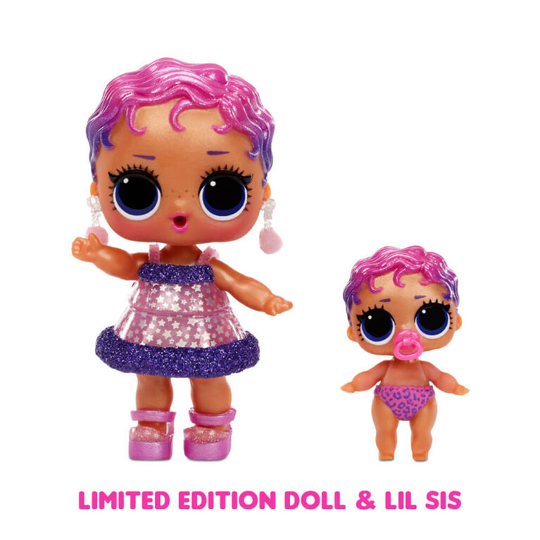 LOL Surprise Deluxe Present Surprise Series 2 Slumber Party Theme with Exclusive Doll and Lil Sister
