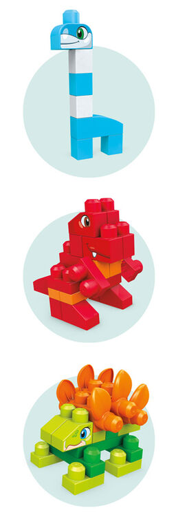 Mega Bloks Let's Build Dinos