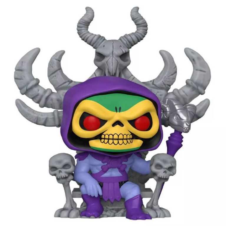 Funko POP! Deluxe: Master's of the Universe - Skeletor on Throne - R Exclusive
