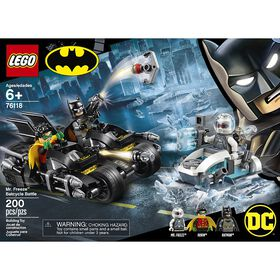 LEGO Super Heroes Mr Freeze contre le Batcycle 76118