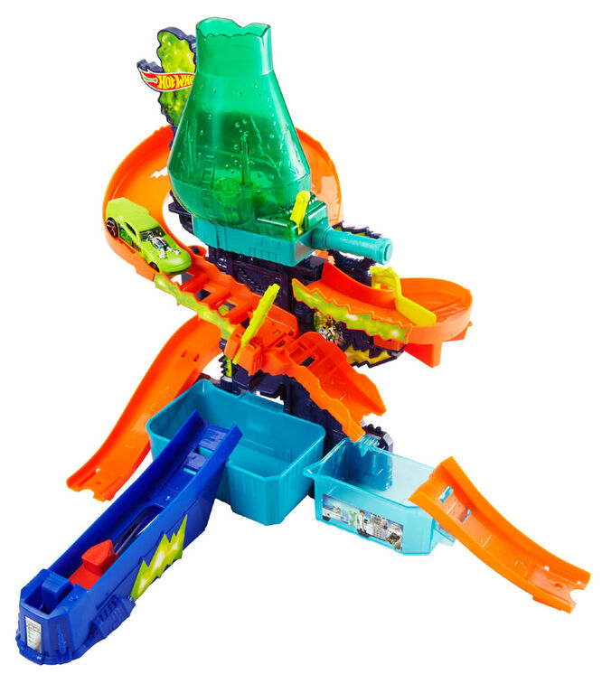 Hot Wheels Color Shifters Color Splash Science Lab Playset