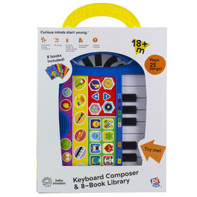 Baby Einstein Keyboard Composer & 8 Book Library