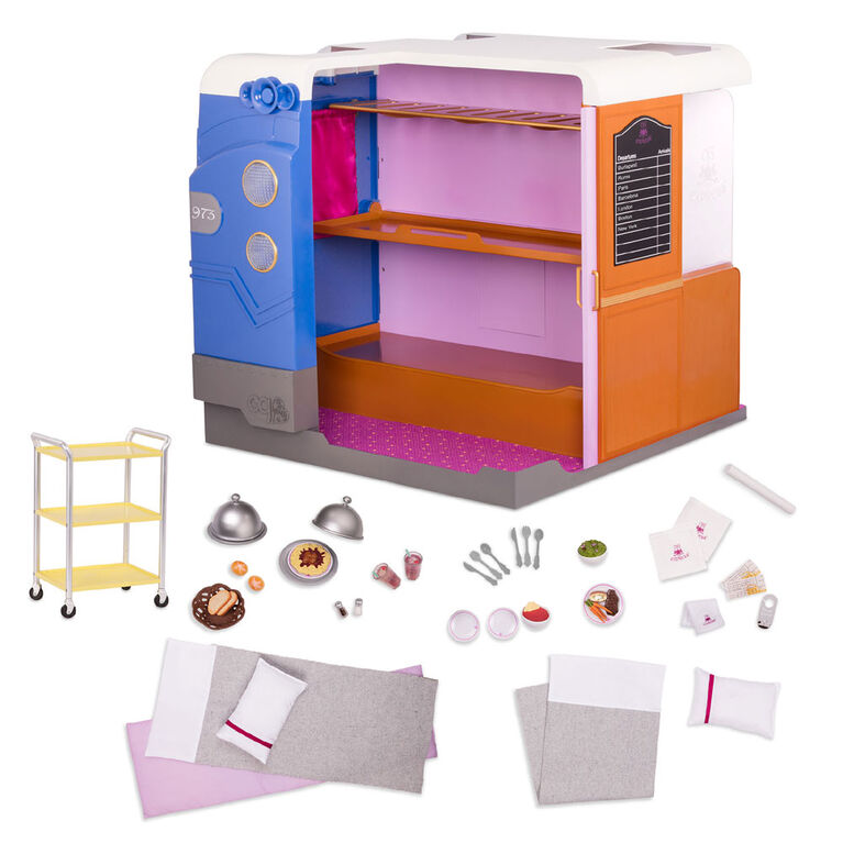 Our Generation, OG Express, Train Cabin Playset for 18-inch Dolls
