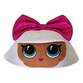 "L.O.L. Surprise! ""Pink Bow Diva"" Cuddle Pillow"