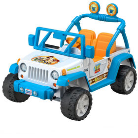 Power Wheels Disney/Pixar Toy Story Jeep Wrangler - English Edition