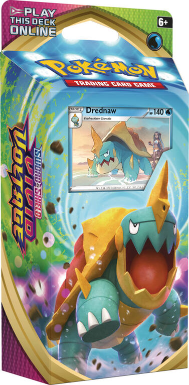 Pokemon Sword & Shield Vivid Voltage Theme Deck - Drednaw - English Edition