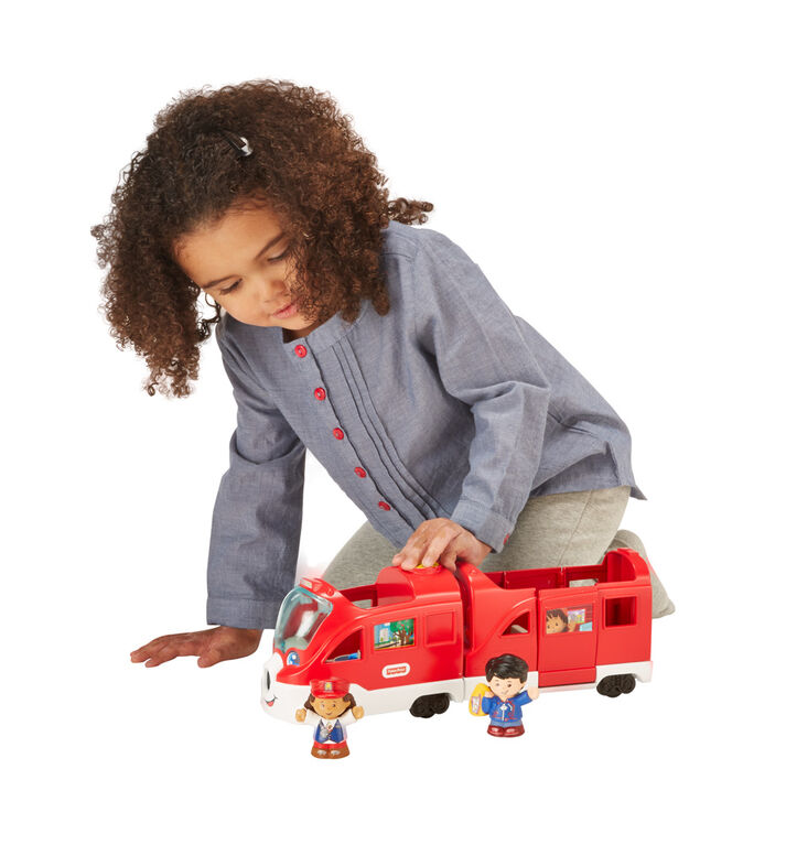 Fisher-Price Little People Friendly Passengers Train - French Edition