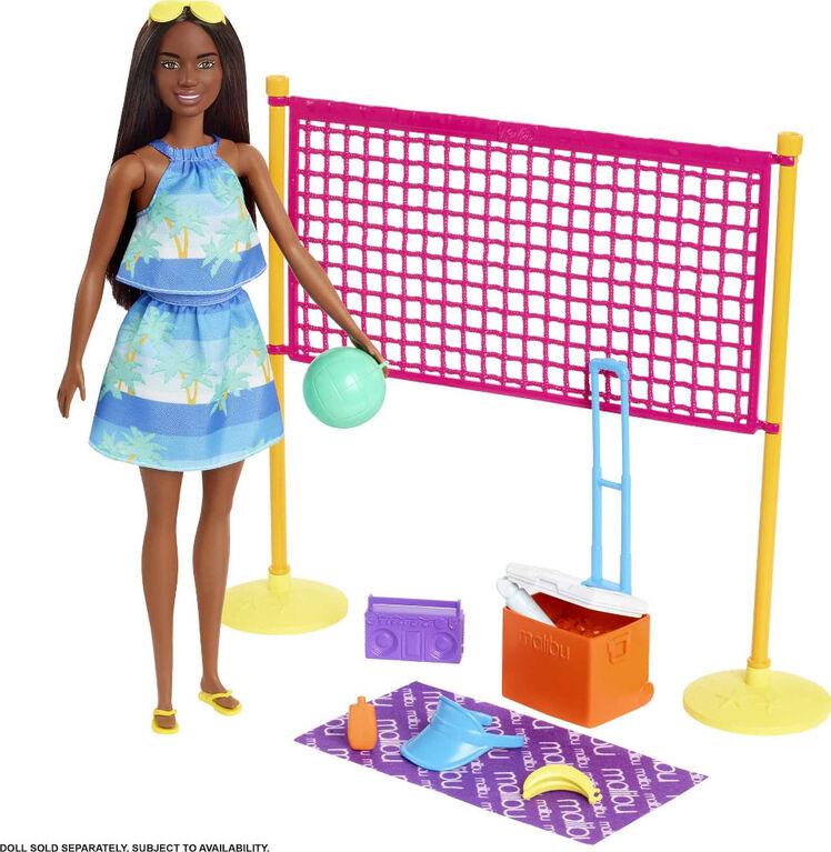 Barbie-Coffret Barbie Aime l'Océan Beach-Volley