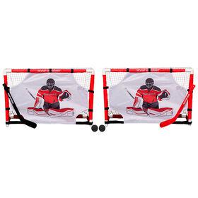 Road Warrior Mini Net Set with Shooter Tutors