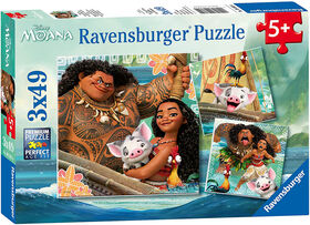 Ravensburger - Born to Voyage casse-têtes 3 x 49pc