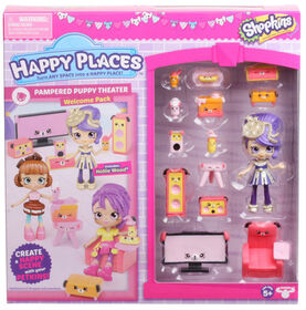 Shopkins Happy Places S3 Welcome Pack  - PAMPERED PUPPY THREATER