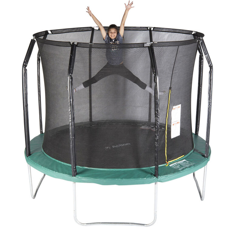 Action 10 foot Gold Series Trampoline Blue - R Exclusive
