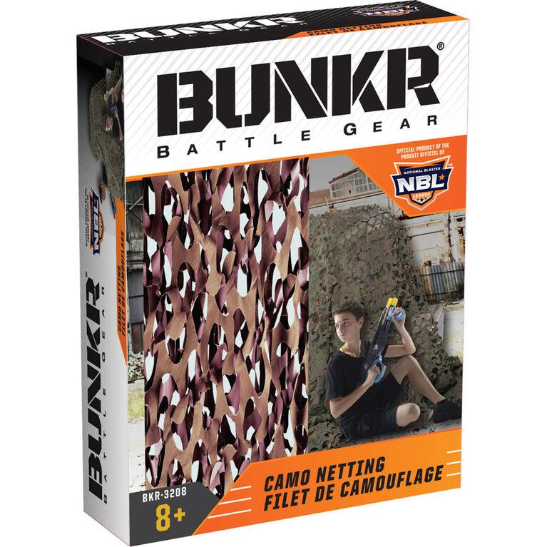 BUNKR Filet de camouflage pour les batailles de foudroyeurs