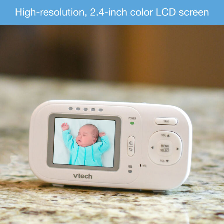 VTech VM2251-2 - 2 Camera Full Colour Video and Audio Monitor - R Exclusive