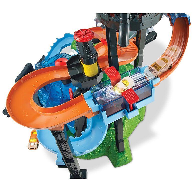 Hot Wheels Ultimate Gator Car Wash Playset