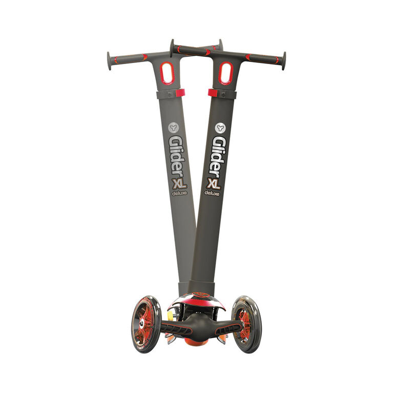 Y Glider XL Deluxe 40 Scooter- Red