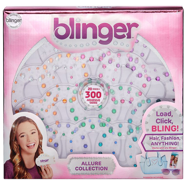 Blinger 20 Piece Refill Pack - Allure Collection - Jewel Tones