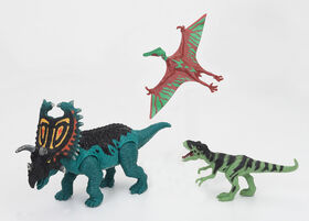 Animal Planet - Dinosaur Playset 3 Pieces – Pentaceratops Set