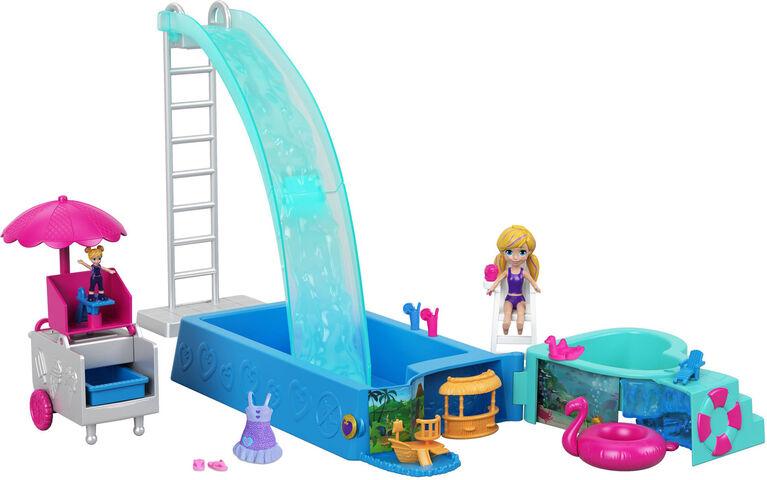 Polly Pocket Splashtastic Pool Surprise Playset