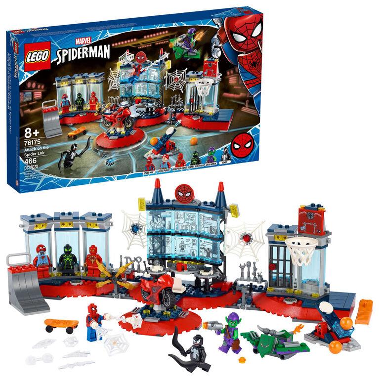 LEGO Super Heroes L'attaque contre le repaire de Spider-Man 76175