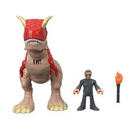 Fisher-Price Imaginext Jurassic World Carnotaurus & Dr. Malcolm