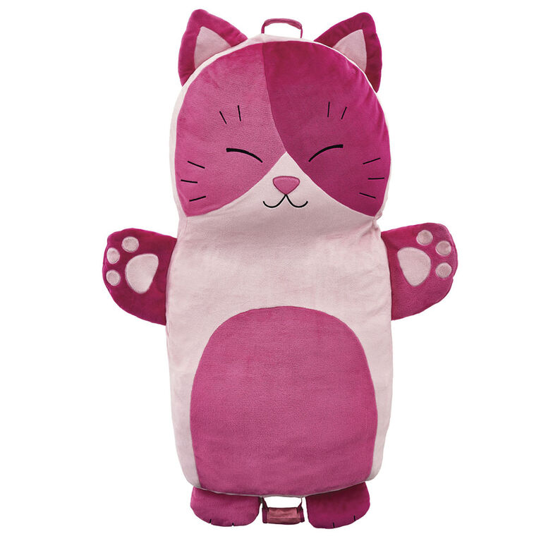 Soft Landing Luxe Loungers Cat Character Cushion - English Edition
