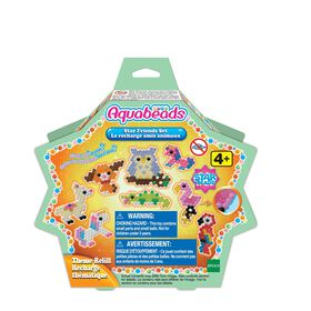 Aquabeads Arts and Crafts Star Friends Theme Bead Refill with over 600 Beads and Templates