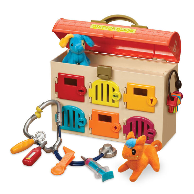 Trousse de vétérinaire pour enfants, Critter Clinic, B. toys