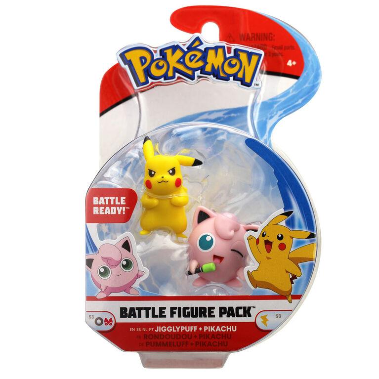"Battle Figure Pack (2"" Fig 2-Pack) - Jigglypuff & Pikachu #2"