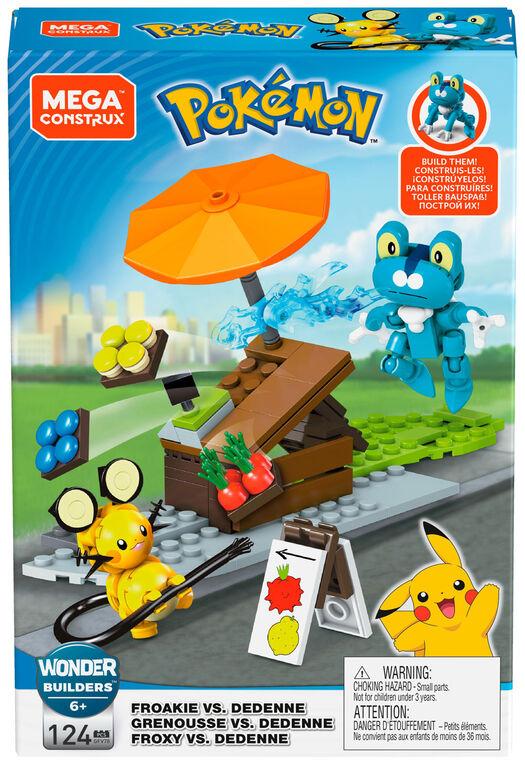 Mega Construx Pokémon Froakie vs Dedenne