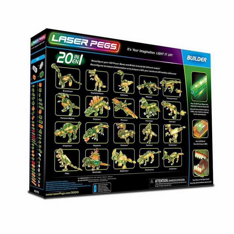 Laser Pegs T-Rex