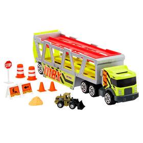 Camion de transport de construction Matchbox