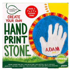 Creative Roots Pyo Handprint Stone