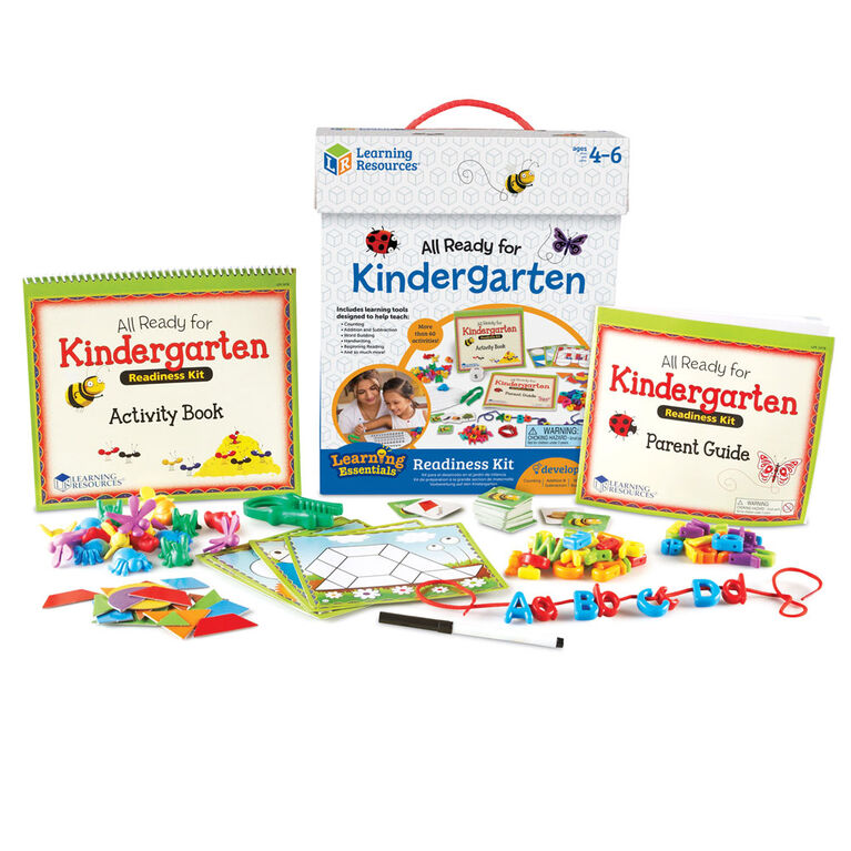 Learning Resources All Ready for Kindergarten Readiness Kit - English Edition