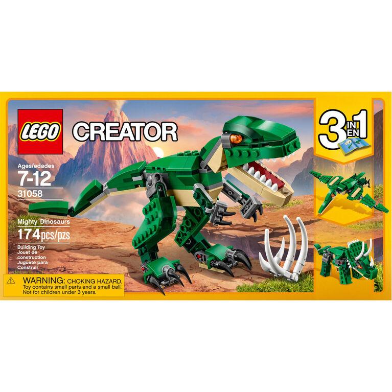 31058 LEGO Creator Mighty Dinosaurs