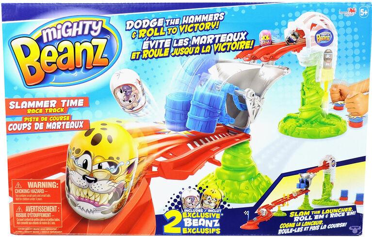 Mighty Beanz - Piste de course Coups de marteaux.